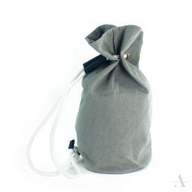 ArtOfPolo Stahovací Canvas batoh šedý