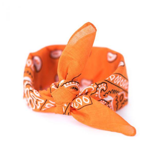 Šátek Bandana Classic rebel Oranžová
