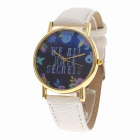 Dámské květinové hodinky Secrets