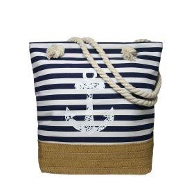 CAVALDi Plážová taška námořnická Kotva