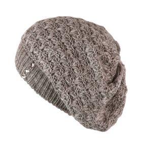 ArtOfPolo dámský pletený baret Šedý
