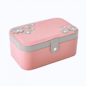 Šperkovnice na šperky box Flower Růžový