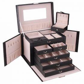 Luxusní kufřík na šperky Joshua Černá