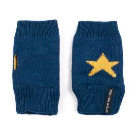 ArtOfPolo krátké rukavice bez prstů Star Modré