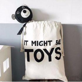 Bavlněný vak na hračky a prádlo Toys