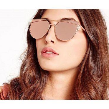 Sluneční brýle GLAM CAT Ombre Růžové