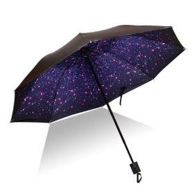 Dámský skládací deštník  Vesmír