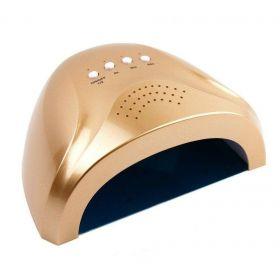 KT-508 Duální led lampa na nehty 24/48W Zlatá