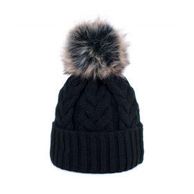 ArtOfPolo dámská zimní čepice Lea Černá