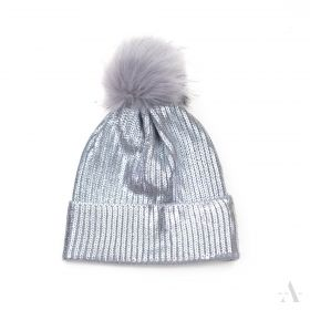 ArtOfPolo dámská čepice Glamour stříbrná
