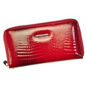 Jennifer Jones kožená peněženka Biggs Červená