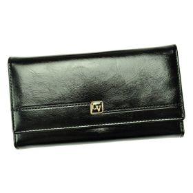 Cavaldi kožená peněženka Megan Černá