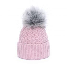 ArtOfPolo dámská zimní čepice Evelin Růžová