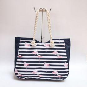Plážová i nákupní taška Plameňáci