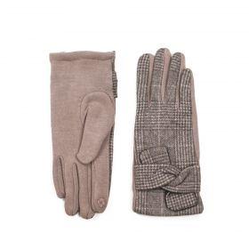 ArtOfPolo dámské rukavice Oxford Hnědé