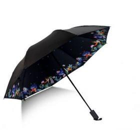 Dámský skládací deštník Ptáci