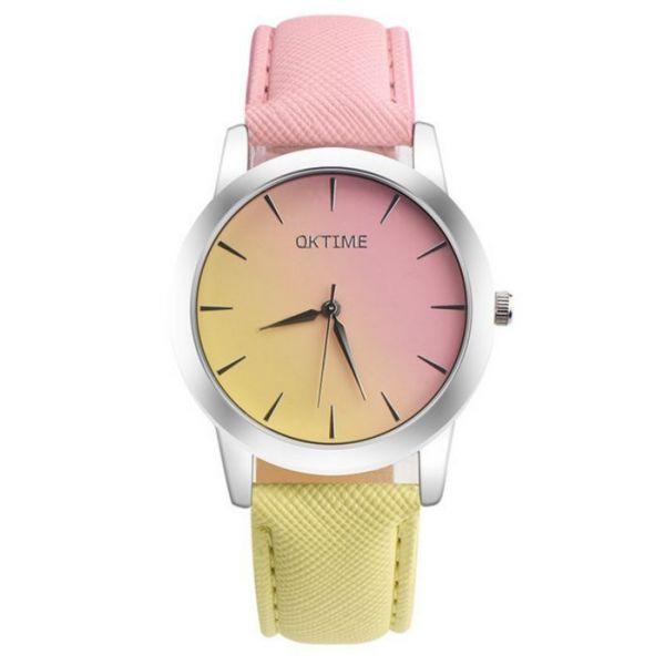 Oktime Dámské hodinky Citronový