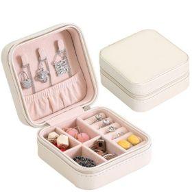Malý Box na šperky Emily Krémová