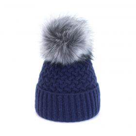 ArtOfPolo dámská zimní čepice Ema Modrá