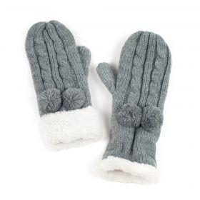 Dámské palčáky rukavice Šedé