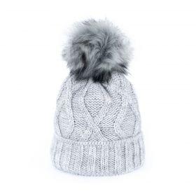 ArtOfPolo dámská zimní čepice Karol Šedá