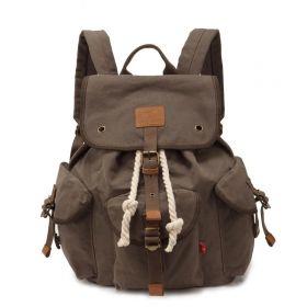 Augur plátěný batoh Pioneer- Khaki