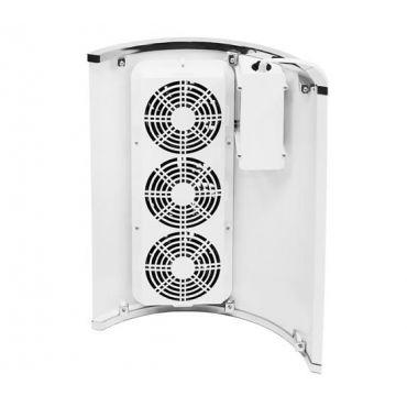 Odsávačka prachu na nehty 40W se 3 ventilátory bílá