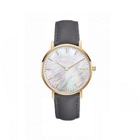 Classy dámské hodinky s opálovým odleskem Šedé