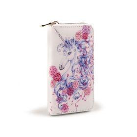 Lifestyle Dámská peněženka Jednorožec s květy
