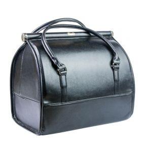 Luxusní kufřík pro kosmetiku Melanie černá