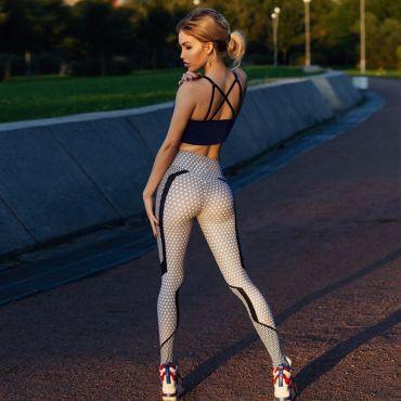 Dámské Sportovní legíny Fitness Gebonie