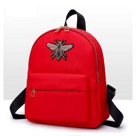 Malý batůžek se čmelákem Červený