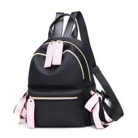 Malý koženkový batůžek Pink Flow