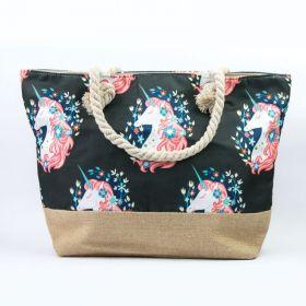 Plážová i nákupní taška Jednorožec