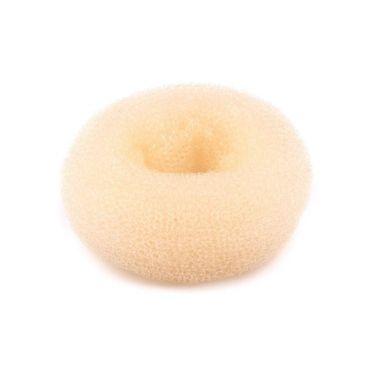 Výplň do drdolů vycpávka krémová 6,5 cm