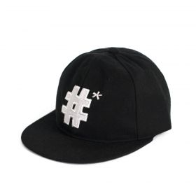 ArtOfPolo kšiltovka Hashtag Černá