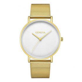 GENEVA dámské elegantní hodinky Zlaté