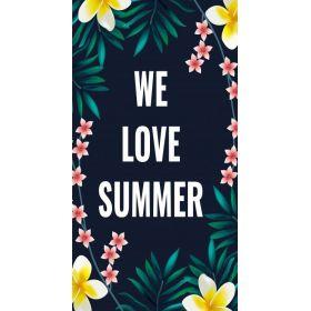 Plážový ručník 170x90cm LOVE SUMMER
