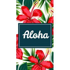 Plážový ručník 170x90cm ALOHA