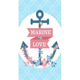 Plážový ručník 170x90cm Kotva Marine