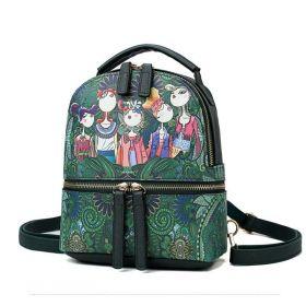 Mini batůžek FIVE GIRLS Zelený