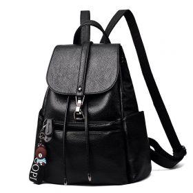 Velký stahovací batoh A4 Klumar Černý