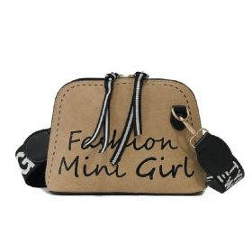 Crossbody kabelka Fashion Mini Girl Hnědá