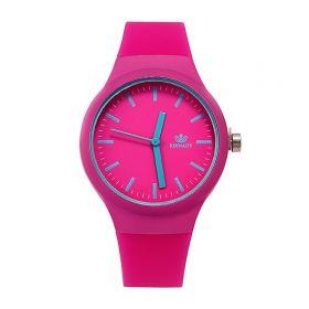 Dámské silikonové hodinky Jely Lady- růžové