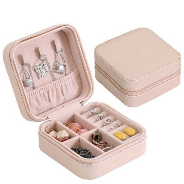 Malý Box na šperky Emily Sv. růžová