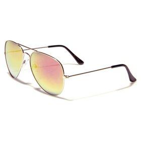 Sluneční brýle zeleno purpurové zrkaldovky