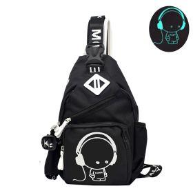 f37aa67d7c Svítící crossbody taška Fashion Boy