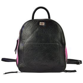 Lookat dámský batoh NERO Černo růžový