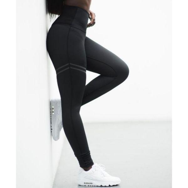 Dámské Sportovní legíny Fitness Černé