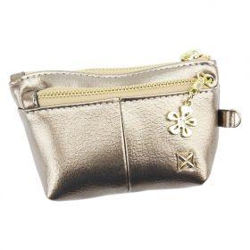 Milano Design dámská peněženka Flower Zlatá